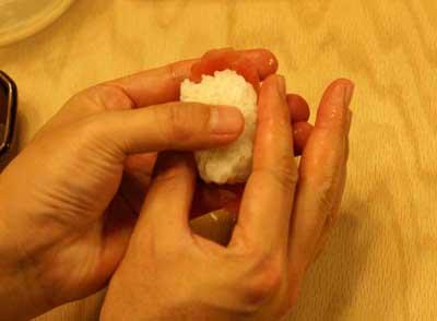 nigiri sushi press rice