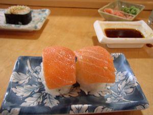 nigiri sushi pair