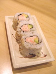 Medium sized uramaki
