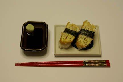 Omelette sushi omelete